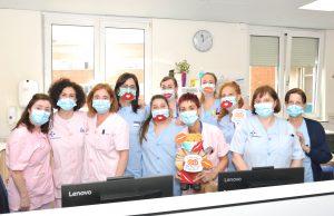 Pediatriako Erizaintzako taldea // Equipo de Enfermería de Pediatría